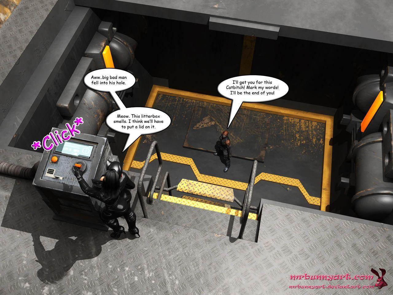 [MrBunnyArt] Batgirl vs Cain (Batman) [English] - part 3