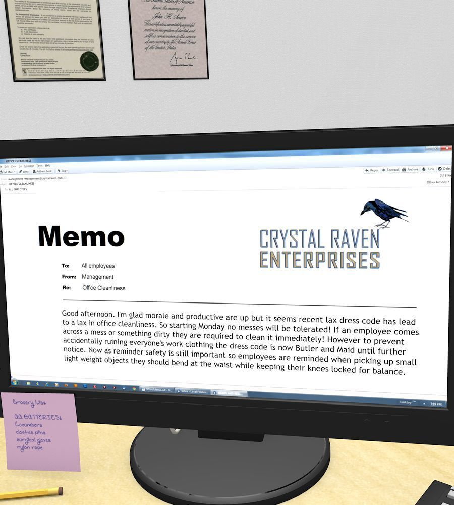 [SturkWurk] Office Memo - part 2