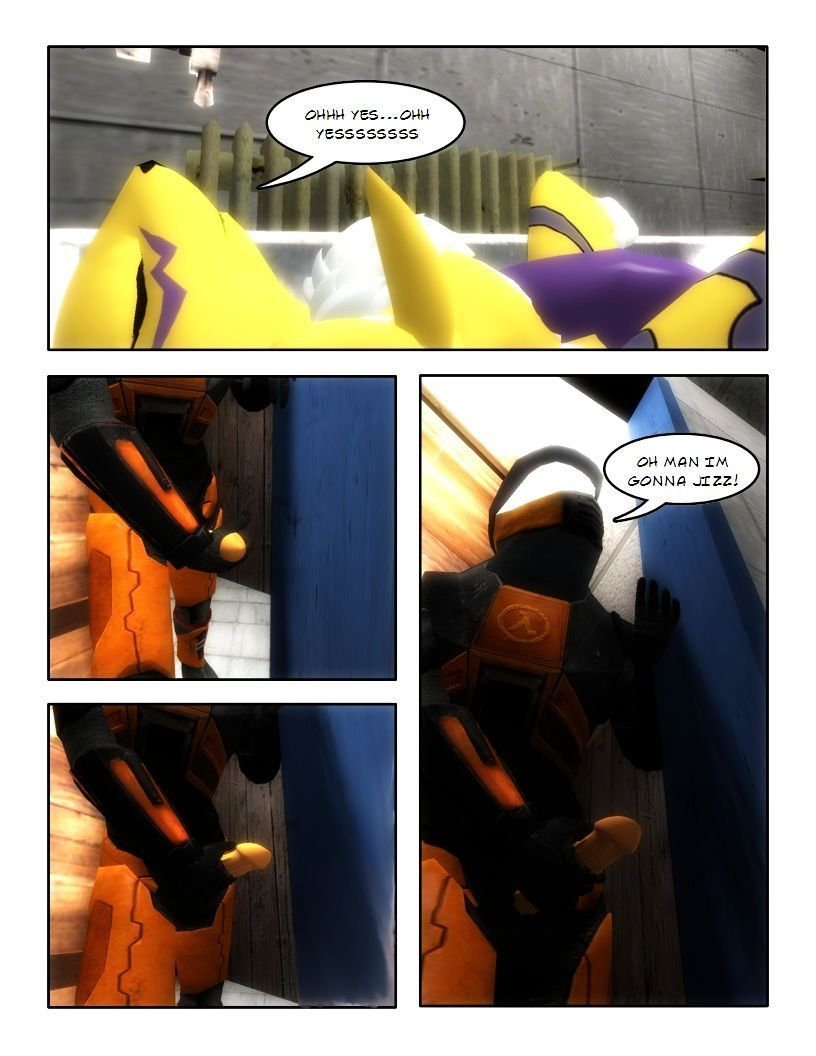 Bad Day Renamon And Freemon Tale - part 2