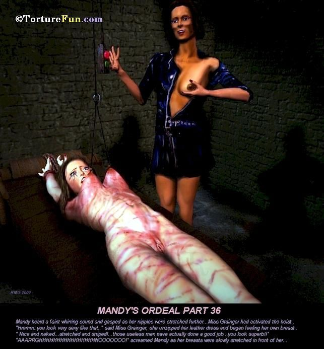 TortureFun - Mandy\'s ordeal - part 2
