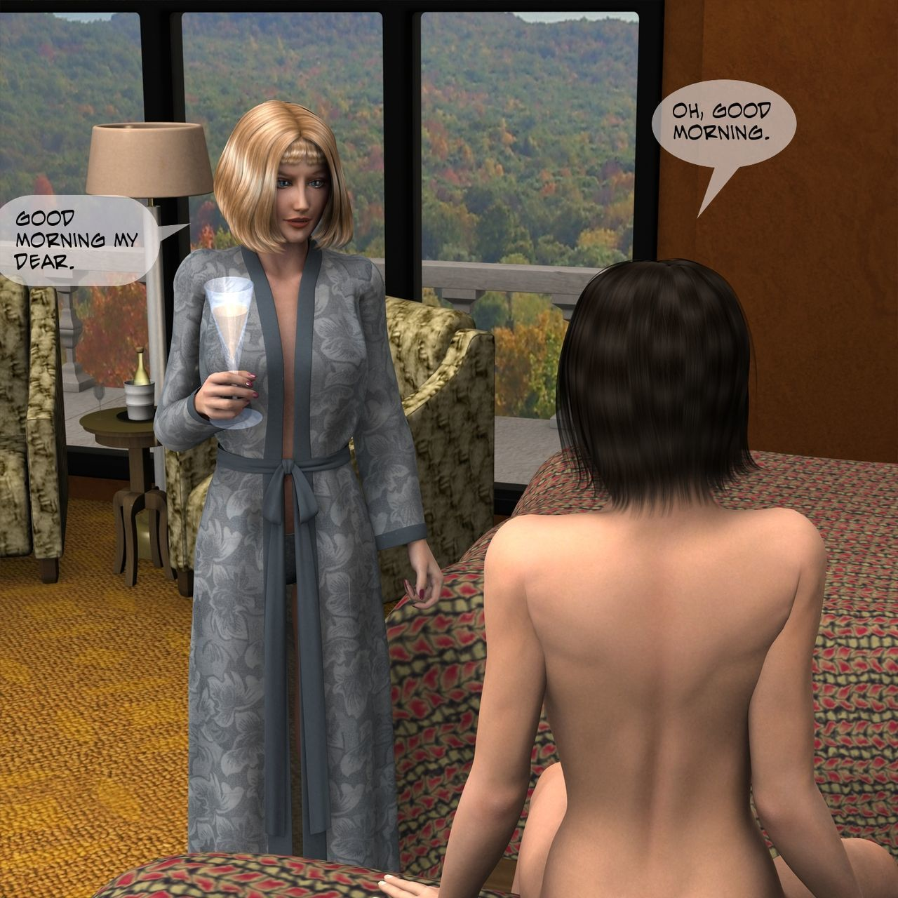 [Fasdeviant] Ashbury Private Health Resort - Chapter 7 The Red Pill