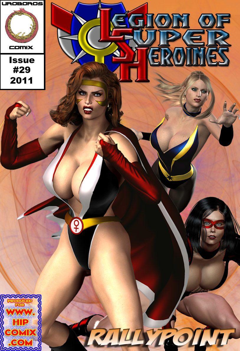 [Uroboros] Legion Of Superheroines 29 - 46