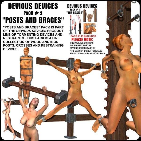Davo 1 bondage devices 3d Art