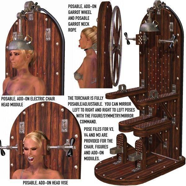 Davo 1 bondage devices 3d Art - part 2