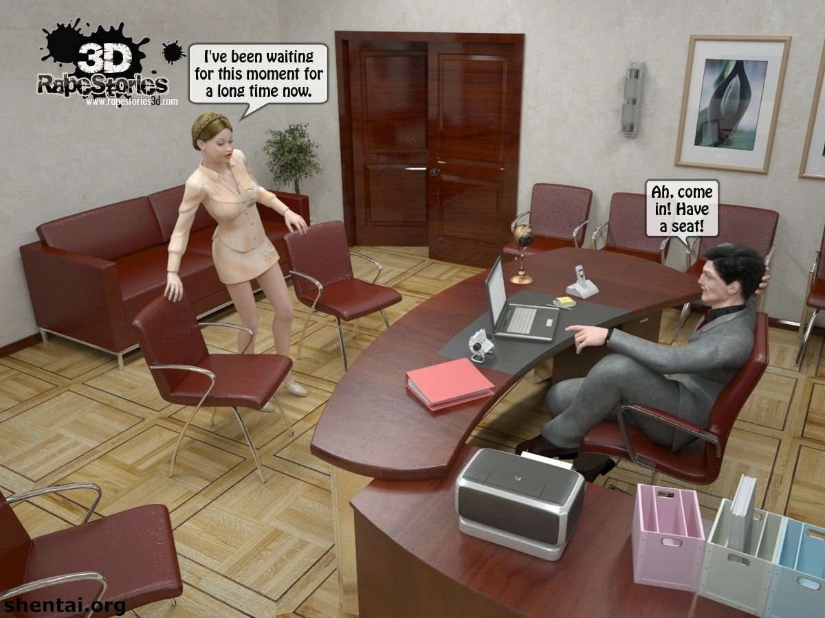 The boss: Woman at interview