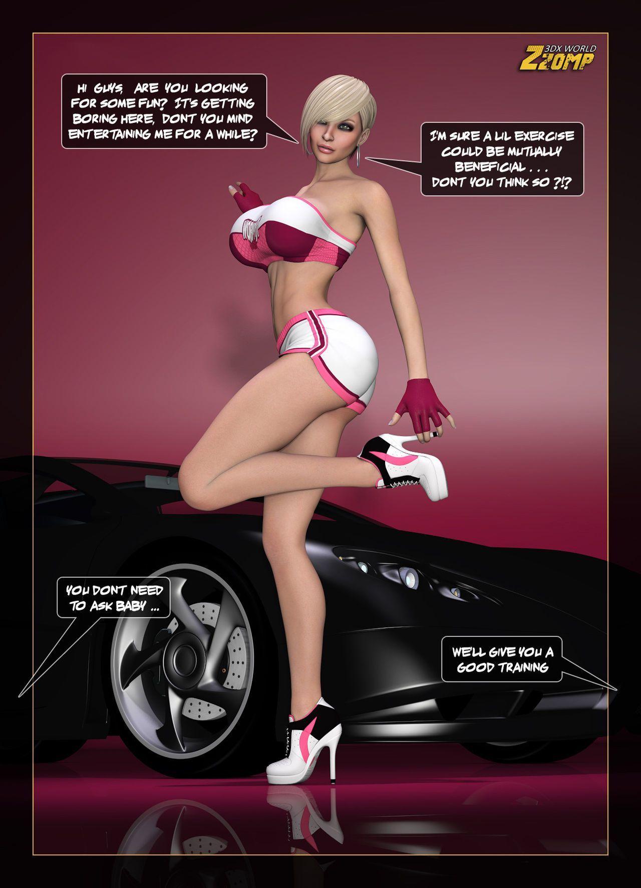 Car Show Chick
