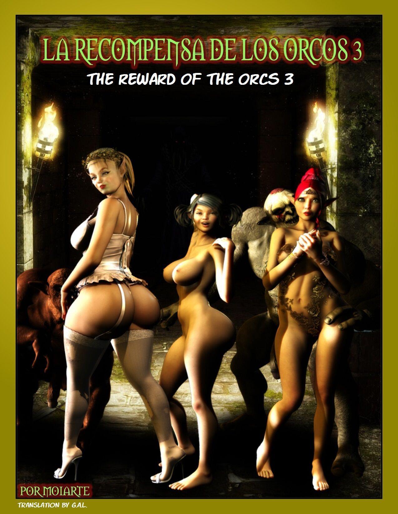 [MOIARTE] THE REWARD OF THE ORCS VOL.3 (ENGLISH)