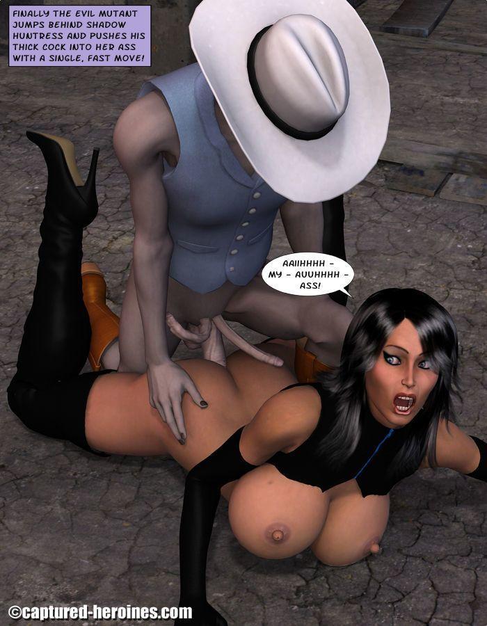 Shadow Huntress - part 2