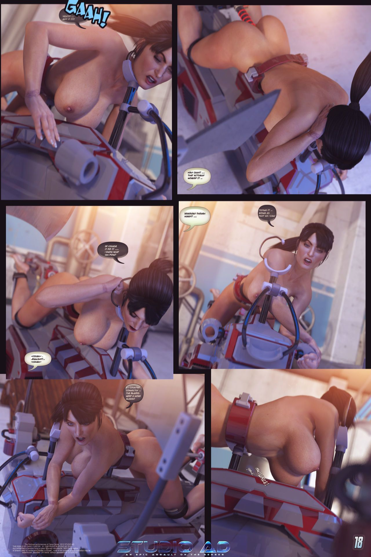 Carey the Queen of Escapology - Picture Collection - part 3