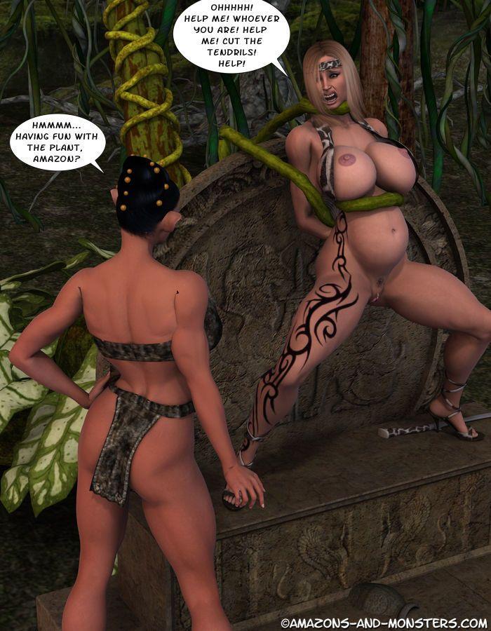 [Amazons & Monsters] Melousa\'s Misadventure - part 2