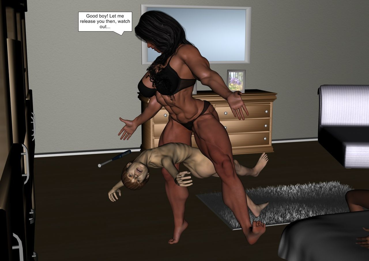 Amber & Julian (Marjory The Horny bitch ) by TST - part 9