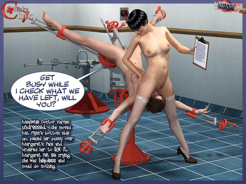 [3DbdsmDungeon] Kinky Clinic - part 2