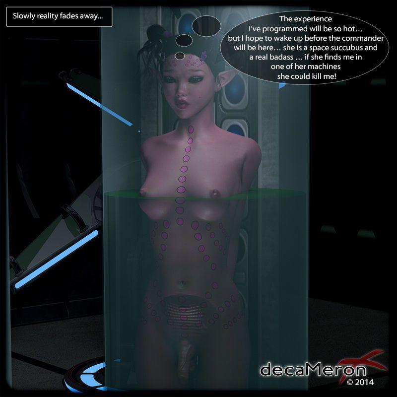 [decaMeron X] S.P.E.R.M. - The Feminization of Atena