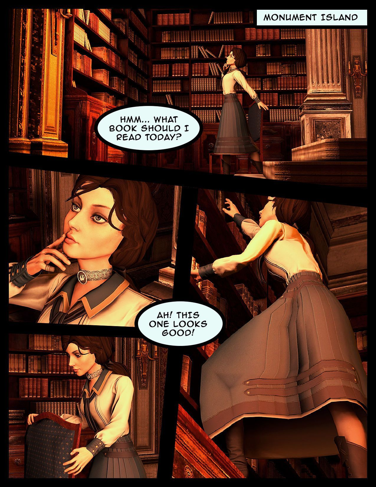 [Vaurra] Teaching Elizabeth (Bioshock Infinite)