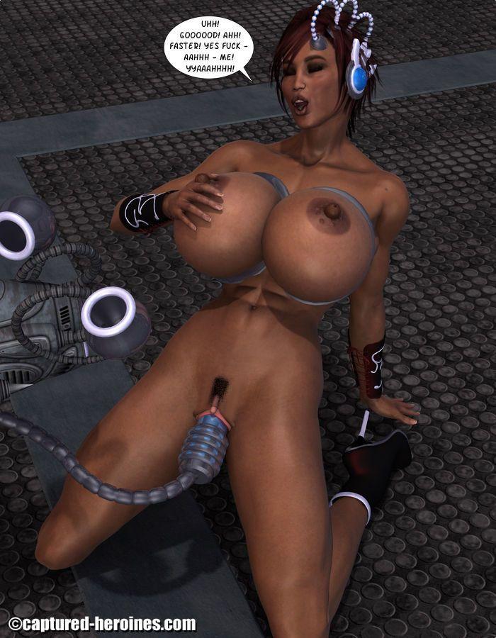 [Captured Heroines] Ninja Squad - Mission Failed - part 4