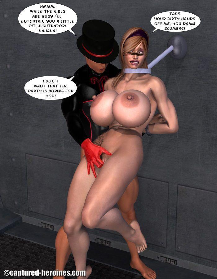 [Captured Heroines] Ninja Squad - Mission Failed - part 5