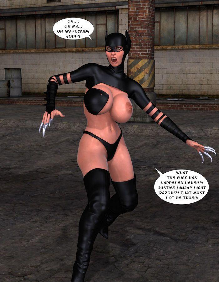[Captured Heroines] Ninja Squad - Mission Failed - part 9