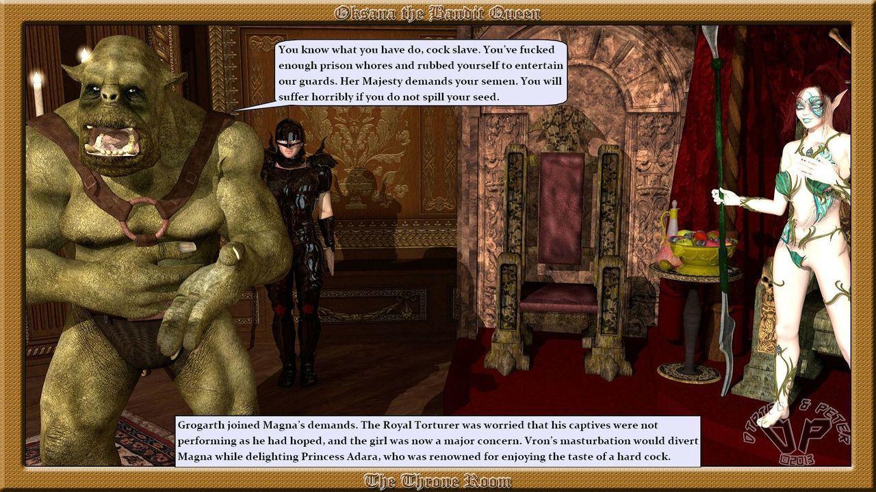 Oksana The Bandit Queen - Part Four - part 4