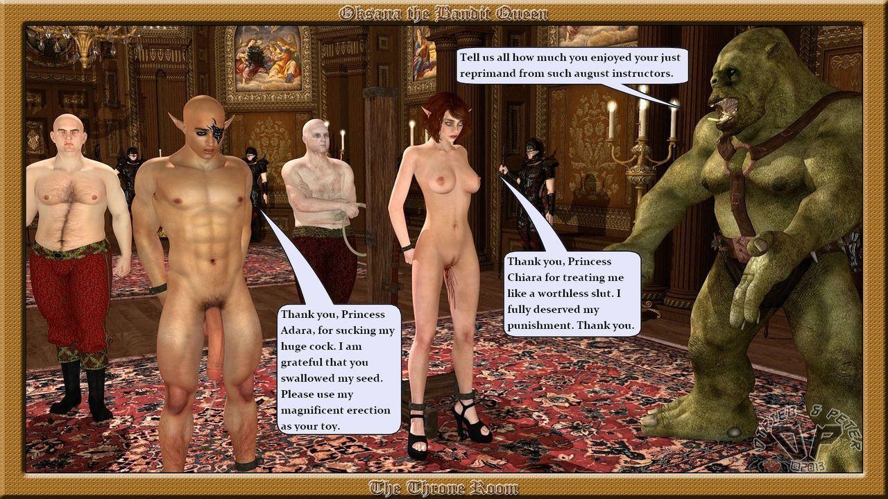 Oksana The Bandit Queen - Part Four - part 7