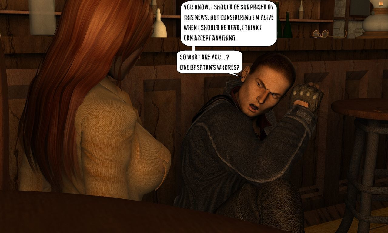 Mina Chronicles Issue 10 - The Vampire and The Bruja Part 1 - part 5