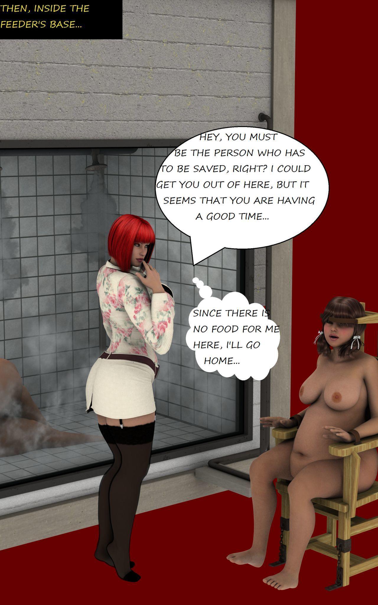 Heavy Amy - The fat superhero - part 2