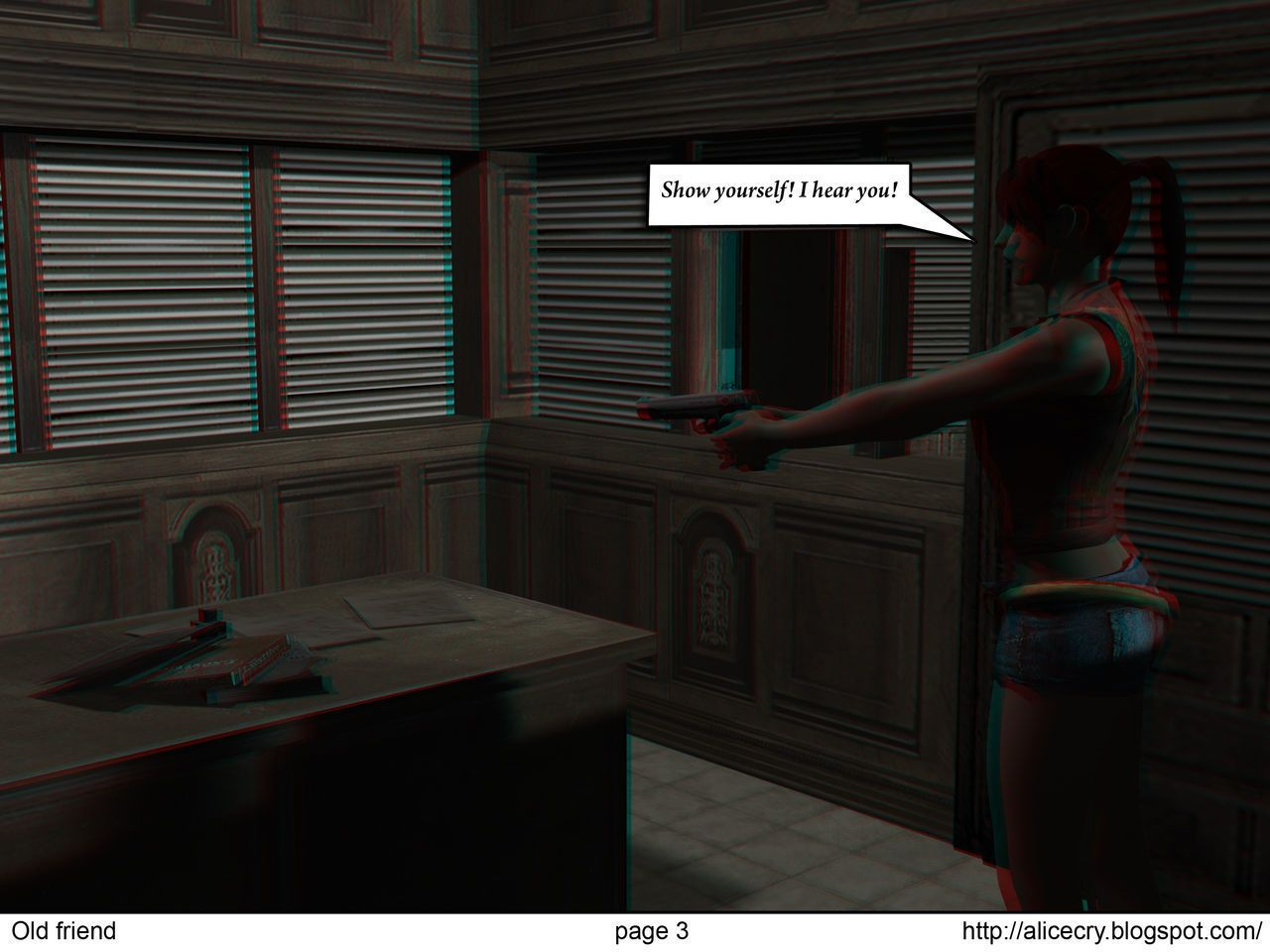 Resident evil: The old friend - part 2