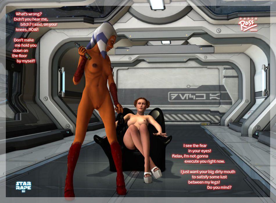 [Darth Ross] Star Rape (Star Wars) - part 3