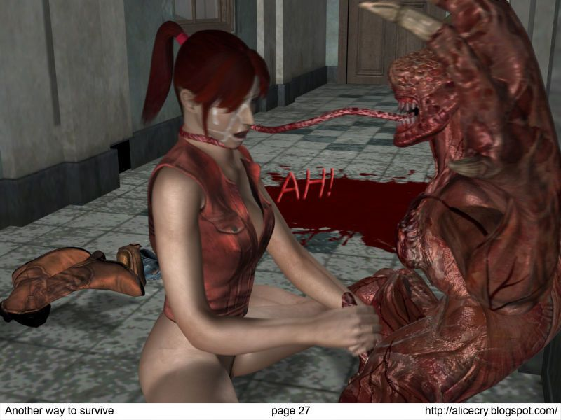 Resident evil: Another way to survive (comix) - part 2