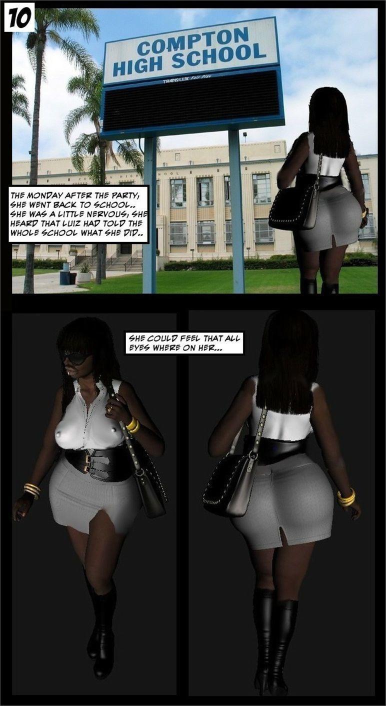 [Dor] Sophie (Ebony School Slut)