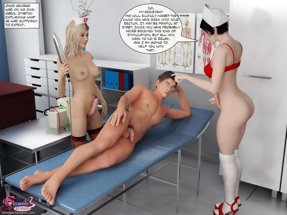 [Shemale3DComics] The Ultimate Sex Therapy
