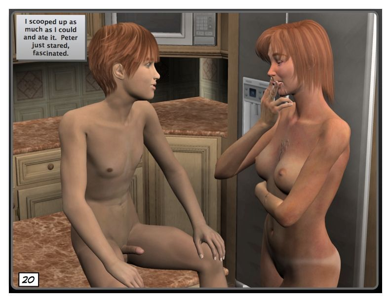 [BoneBob] Carol & Peter- chapter 03: Naked day