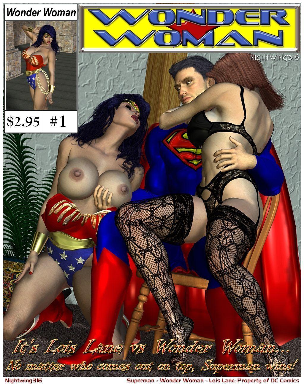 [Nightwing316] Lois Lane VS. Wonder Woman (Justice League)