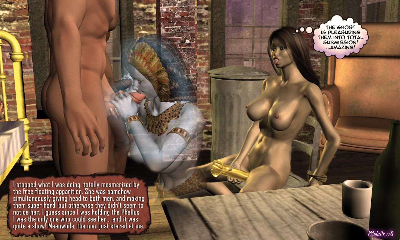 Betty Noir Private Eye - 04.The Case of the Pharaoh\'s Phallus - part 4
