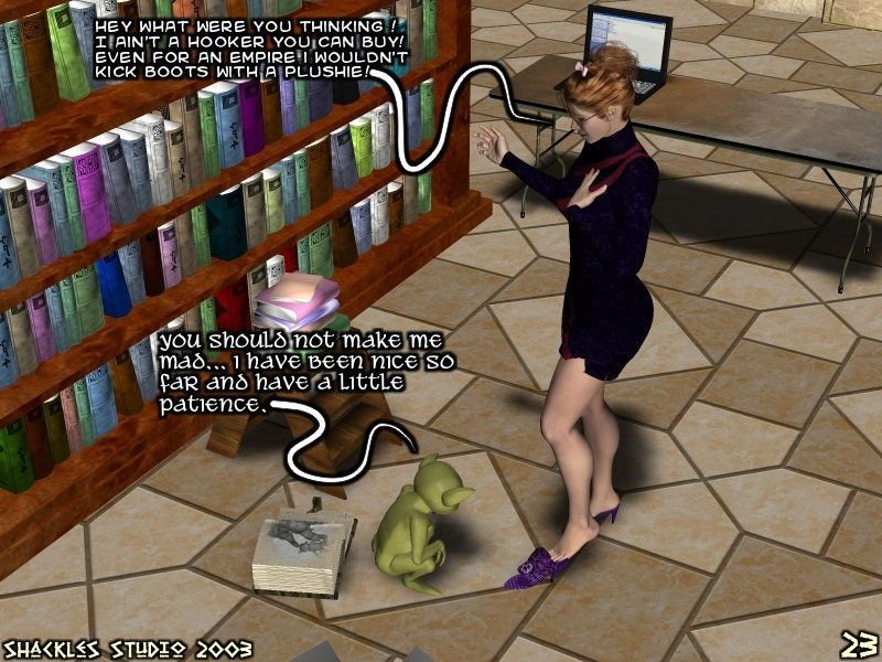 Babette the Overbooked Librarian - part 2