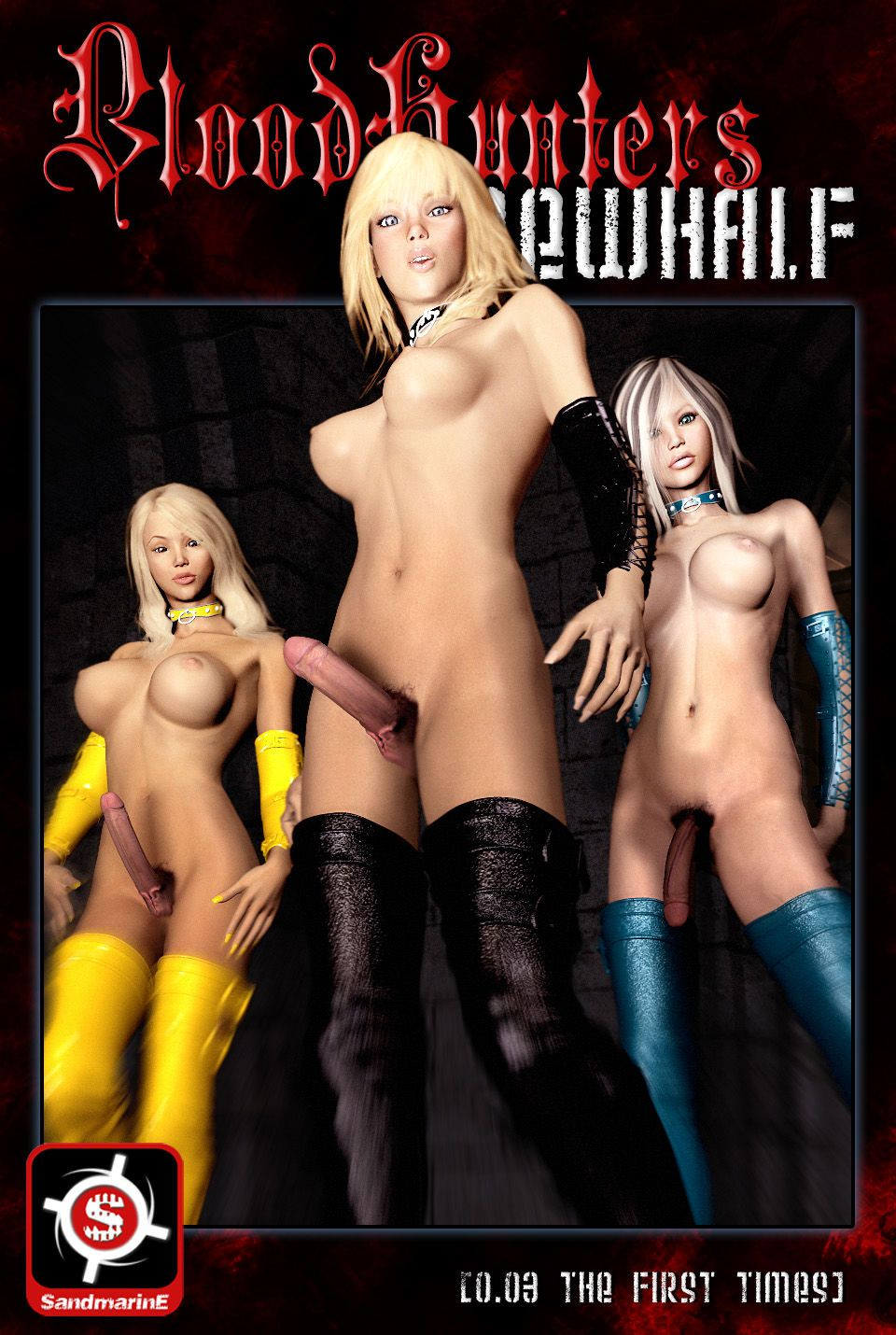 Bloodhunters Newhalf - 003 The first times (futa 3d)