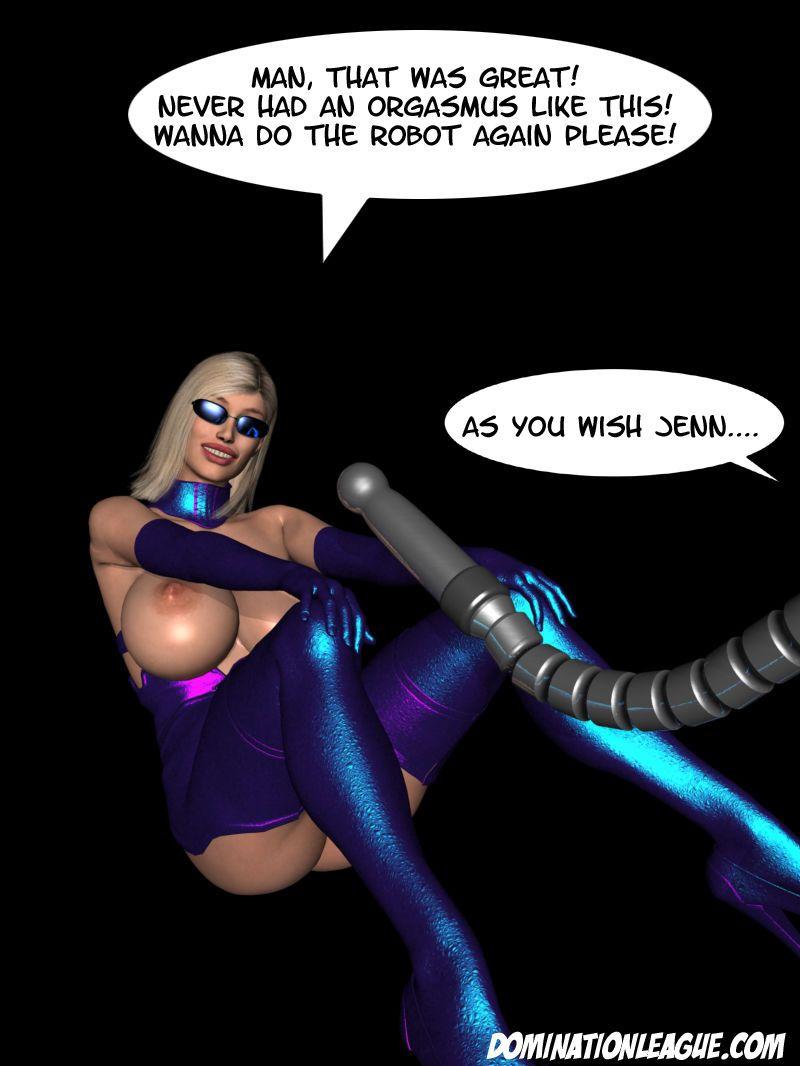 3D Dom. League - Jenna - part 2