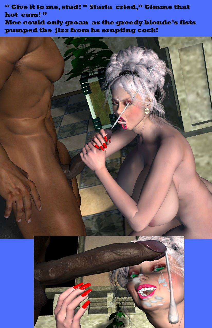 [Johnson] Starla Stacked Hot For Black Cock