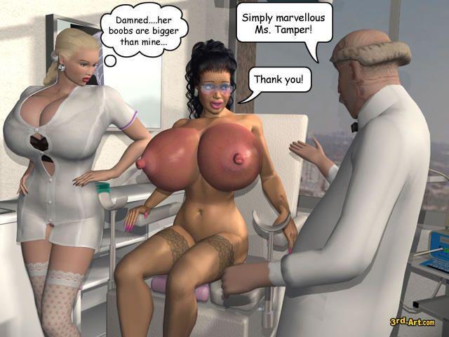 Make tits grow big game