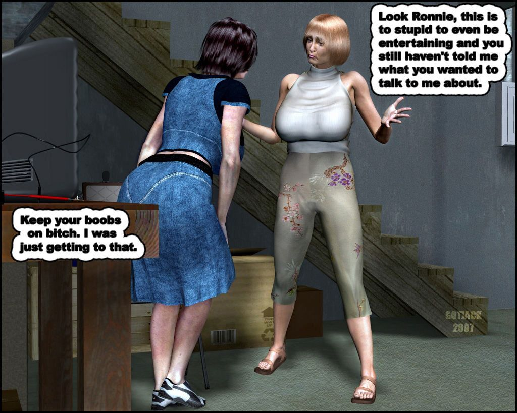 Titfighting Wives 1 by got jack tbc - part 2