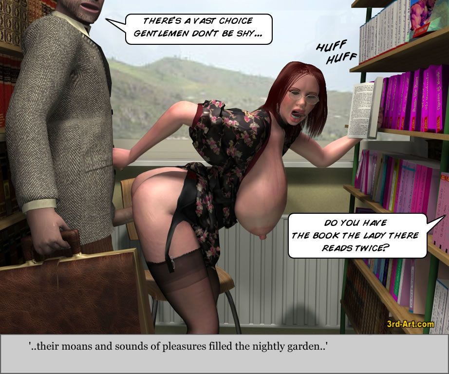 3Darlings Model Nadia at the Library - part 4