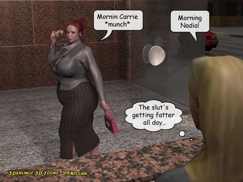 3Darlings Model Nadia eat Donuts - part 4