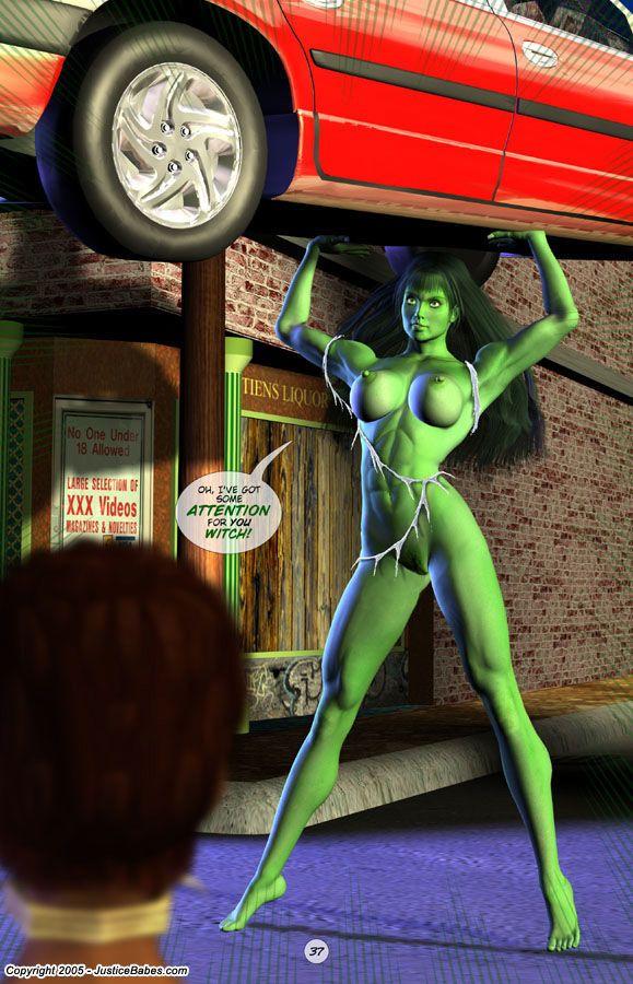 Justice Babes #2 - part 2