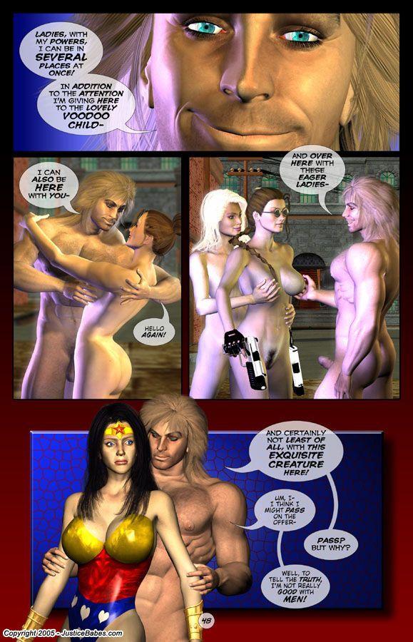 Justice Babes #2 - part 3