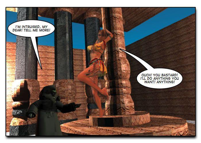 Mindy - Sex Slave On Mars c401-425 - part 8