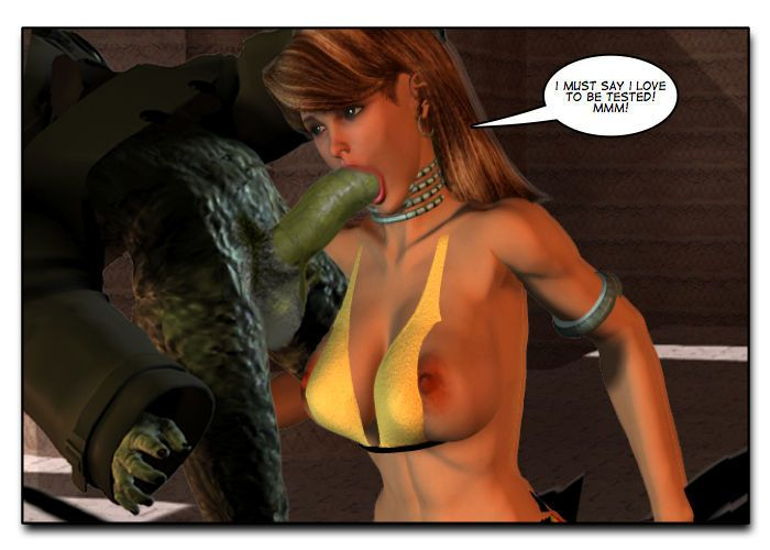 Mindy - Sex Slave On Mars c401-425 - part 9