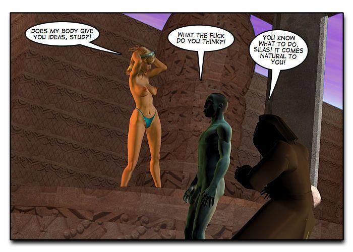 Mindy - Sex Slave On Mars c401-425 - part 11