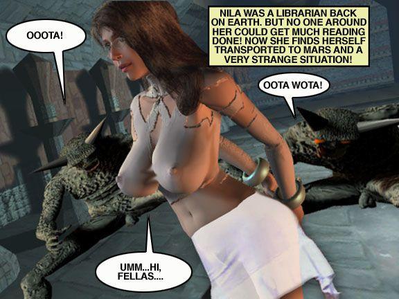 Mindy - Sex Slave On Mars c376-400