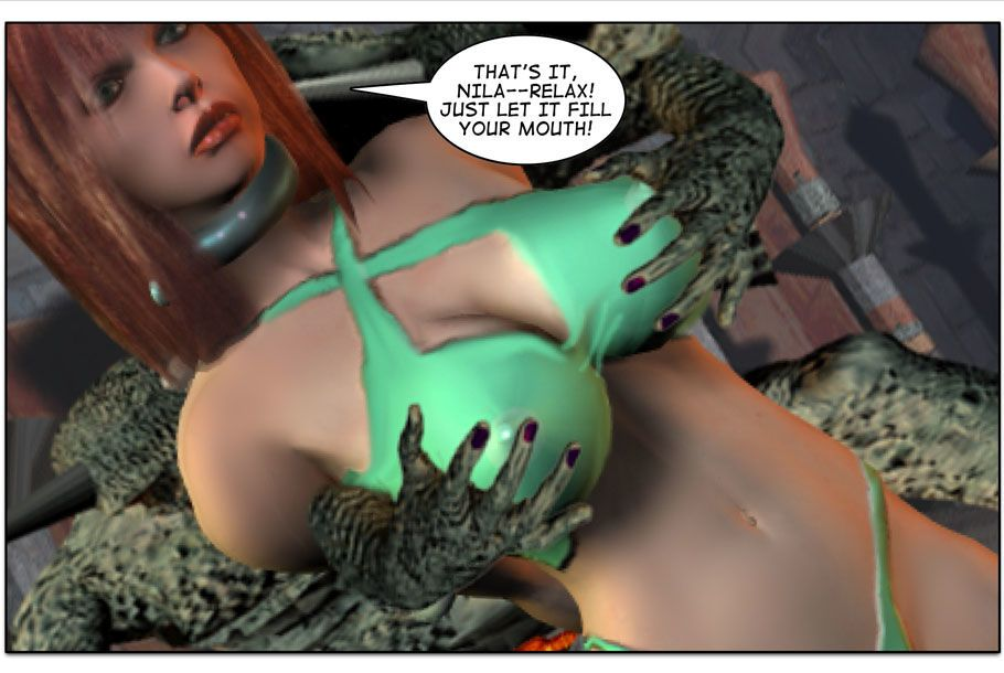 Mindy - Sex Slave On Mars c376-400 - part 8