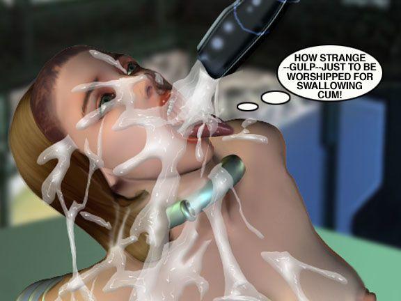 Mindy - Sex Slave On Mars c351-375 - part 2