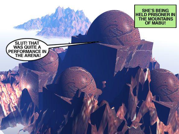 Mindy - Sex Slave On Mars c351-375 - part 4